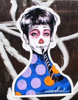 femme clown
