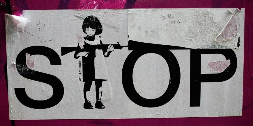 japan's stickers war post fukushima 5