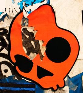 japan's stickers war tete de mort