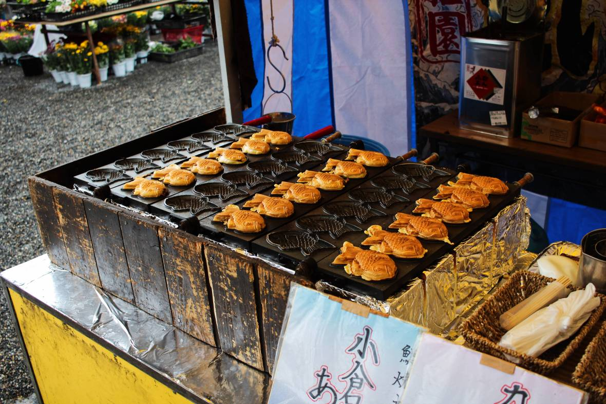 kobo-san market taiyaki