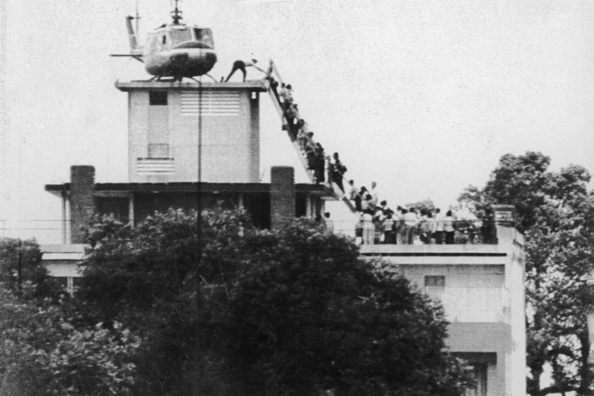 last helicopter in Saigon