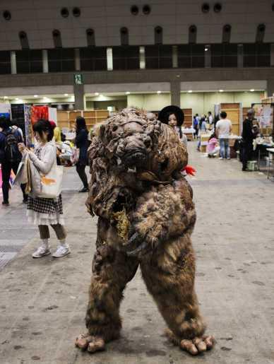 laurent ibanez tokyo design festa cosplay monstre