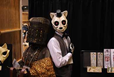 laurent Ibanez tokyo design festa cosplay skull