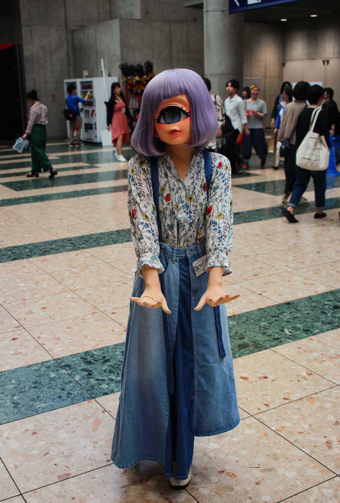 laurent Ibanez tokyo design festa cosplay un oeil