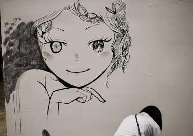 laurent Ibanez tokyo design festa live painting visage2