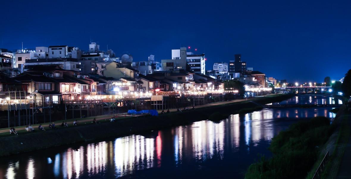 laurent ibanez derriere la colline kamogawa riviere nuit