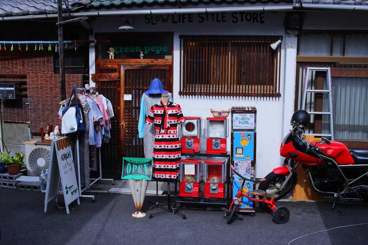 laurent ibanez derriere la colline nakazakicho boutique rue