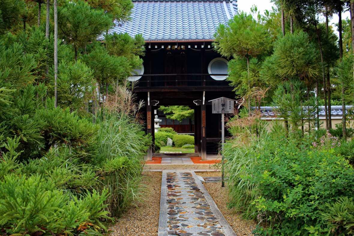 laurent ibanez derriere la colline chateau momoyama kyoto Genko an