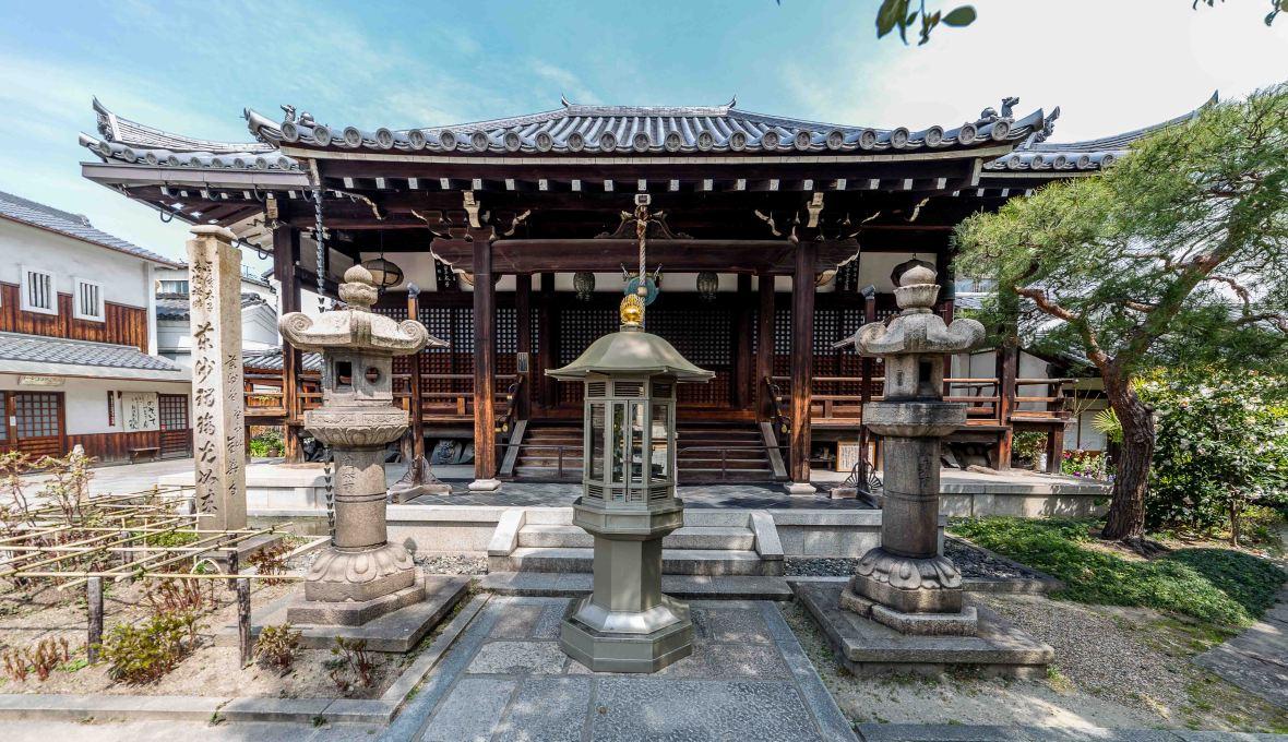 laurent ibanez derriere la collinesenkoji osaka diable temple principal