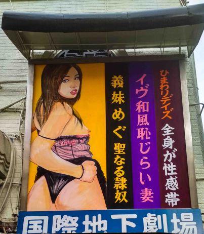 laurent ibanez derrierre la colline le cinema pour adulte du Shin sekai affiche 8